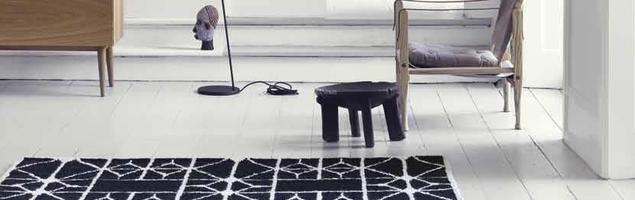Dywany w chłodnych wnętrzach. Dywan do salonu