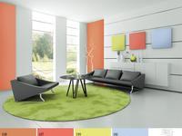 Kolory ścian we wnętrzach. Inspiracje Śnieżka 2014