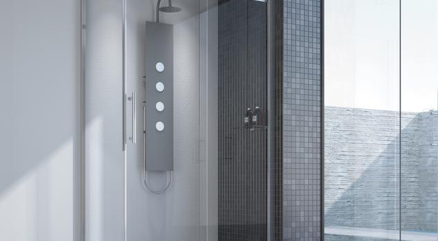 Aranżacja łazienki szyta na miarę od Sanplast SA