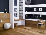 Projektowanie łazienki. Łazienka w drewnie.