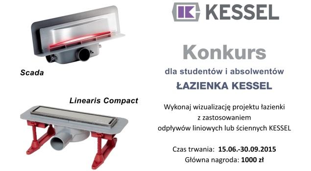Konkurs dla studentów i absolwentów Łazienka KESSEL