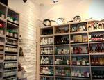 meble sklepowe projekty wnetrz o niewielkiej przestrzeni sklep BIOBRAIN