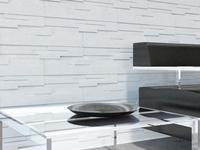 Aranżacje salonów z kamieniem dekoracyjnym Bruk-Bet
