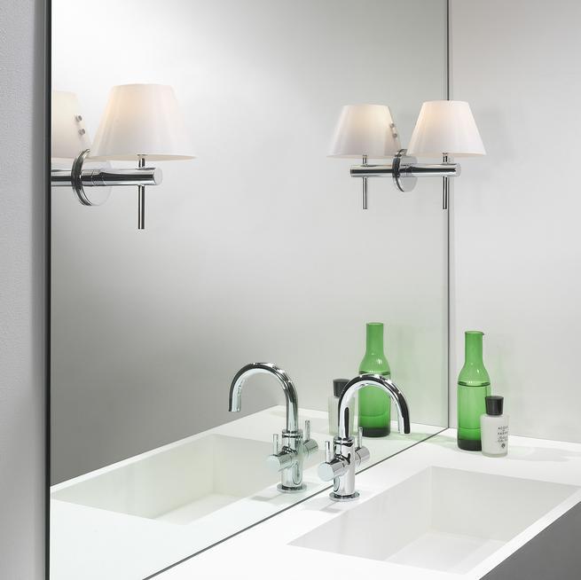 Systemy do montażu oświetlenia na lustrze w łazience