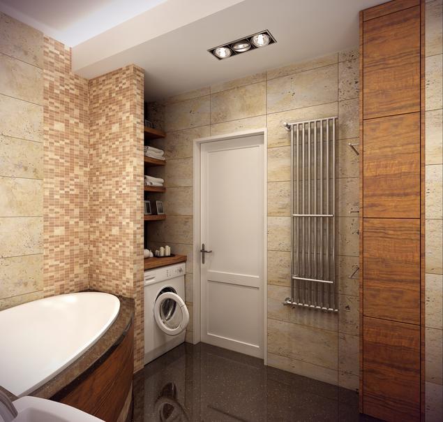 Zobacz galerię zdjęć Nowoczesna łazienka z wanną i prysznicem  Stronywnętrza.pl